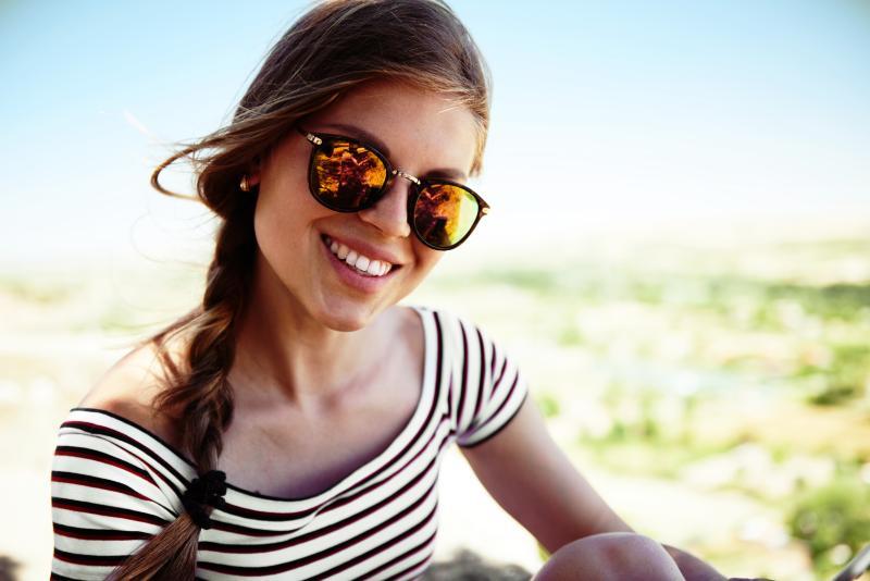 Okulary przeciwsłoneczne od optyka z Białegostoku