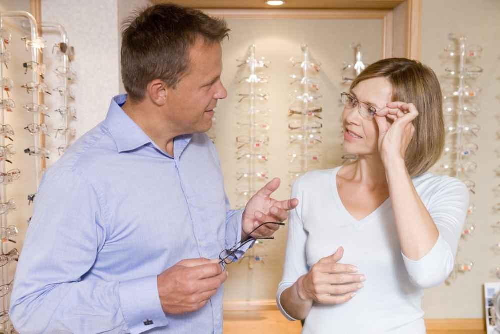 u dobrego optyka dobór okularów