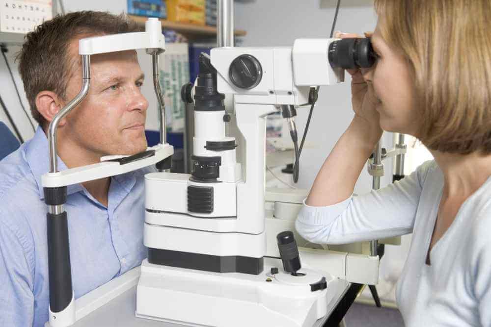badanie oczu u okulisty
